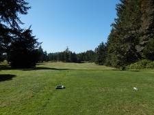 7th tee at Agate Beach Golf Course