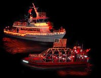 Yaquina Bay Lighted Boat Parade