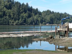 Newport's Yaquina Bay is home to Oregon Oyster Farms