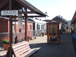 The Yaquina Pacific Railroad Historical Society Train Museum
